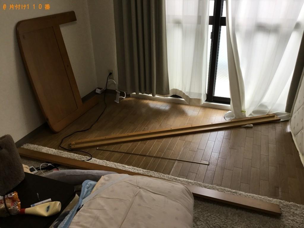 【沖縄市】シングルベッドの回収・処分ご依頼 お客様の声