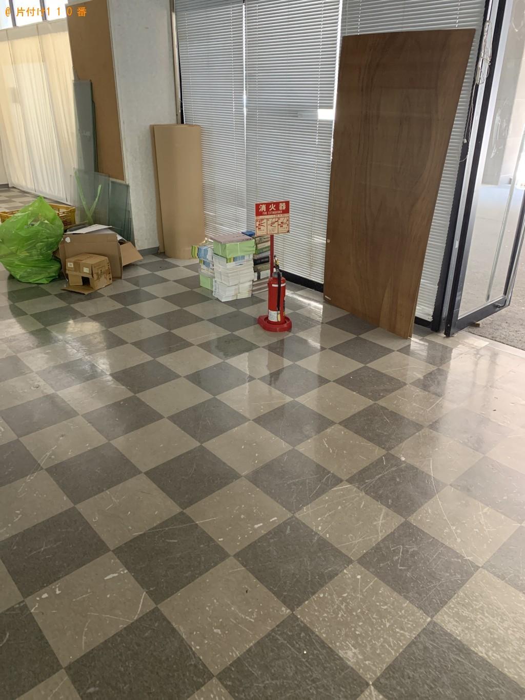【沖縄市】冷蔵庫、パソコン、ストーブ、扇風機、カゴ等の回収・処分