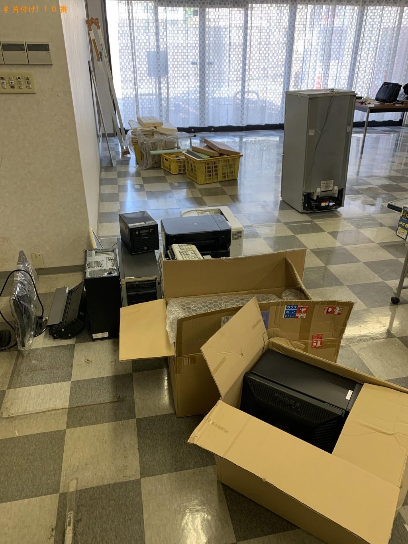 【渡名喜村】冷蔵庫、パソコン、ストーブ、扇風機、カゴ等の回収・処分