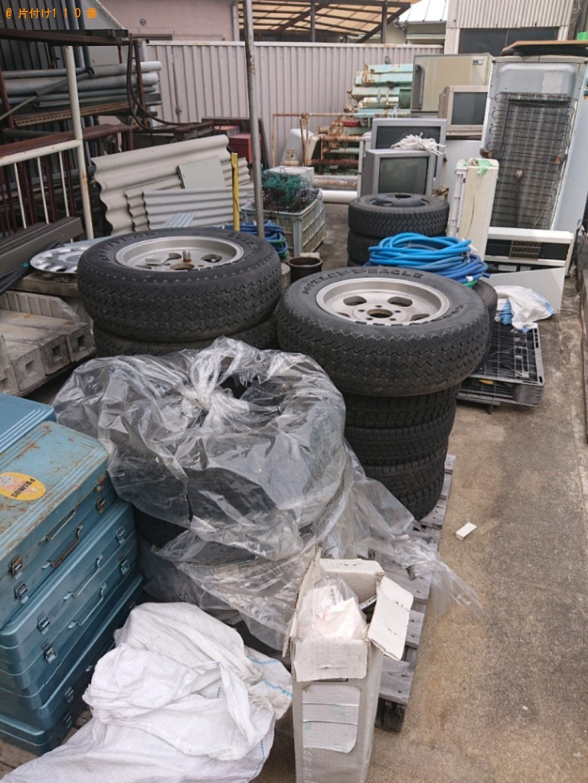 【豊見城市】自動車タイヤの回収・処分ご依頼 お客様の声