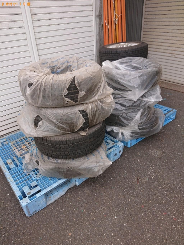 【那覇市】自動車タイヤの回収・処分ご依頼 お客様の声