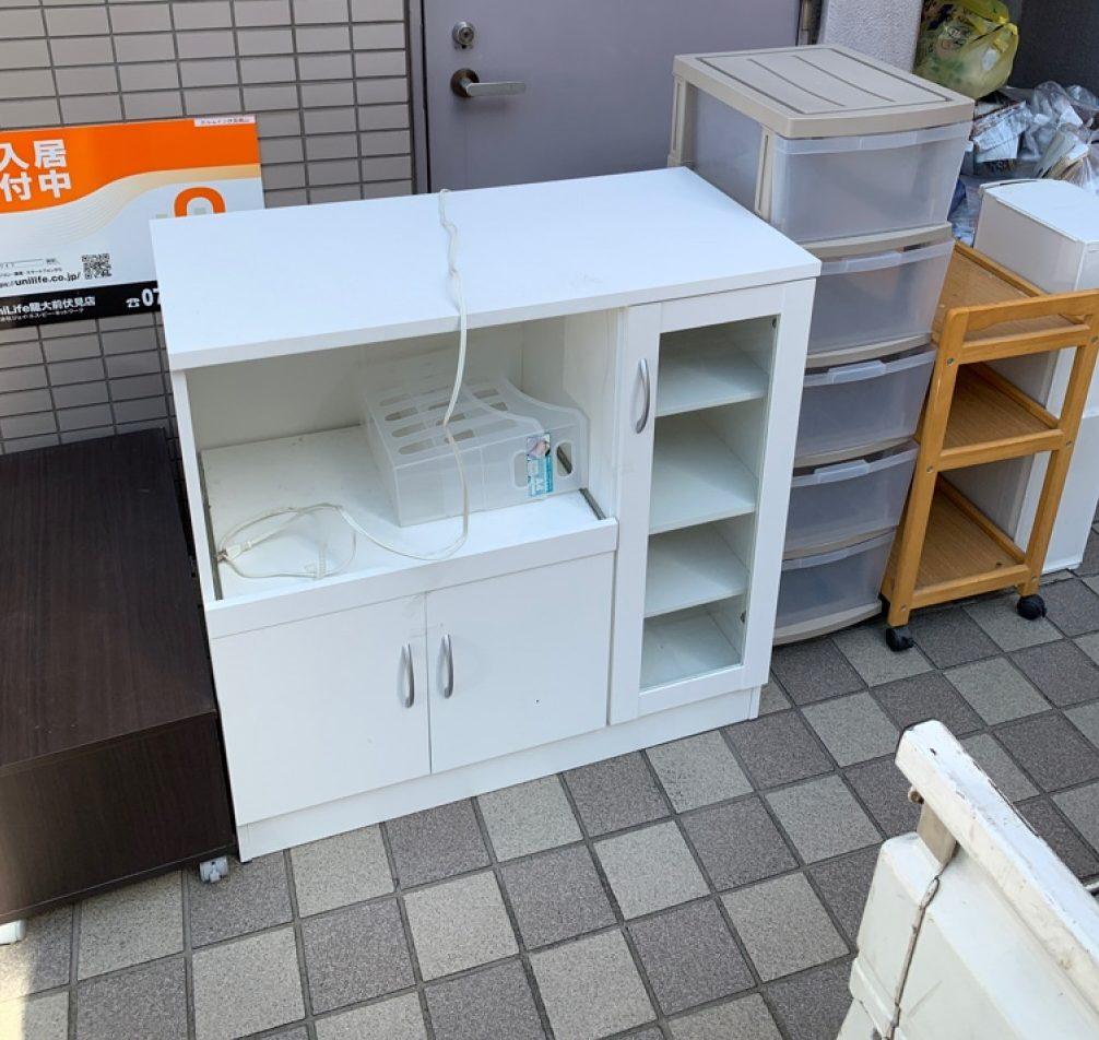 【那覇市】こたつ、食器棚、シングルベッドマットレス等の回収・処分