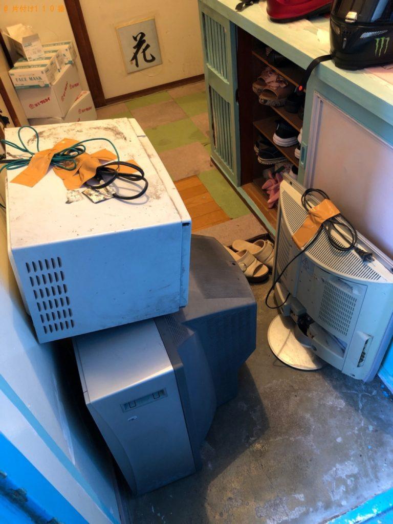 テレビ、電子レンジの回収・処分ご依頼 お客様の声
