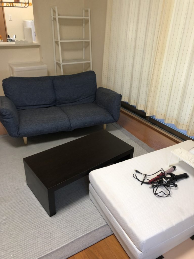 【宮古島市】冷蔵庫、洗濯機、ローテーブル、ソファー等の回収