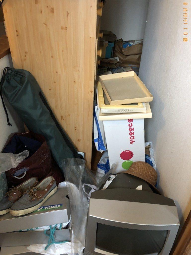 【国頭村】テレビ、靴、服、ギター等の回収・処分、遺品整理のご依頼