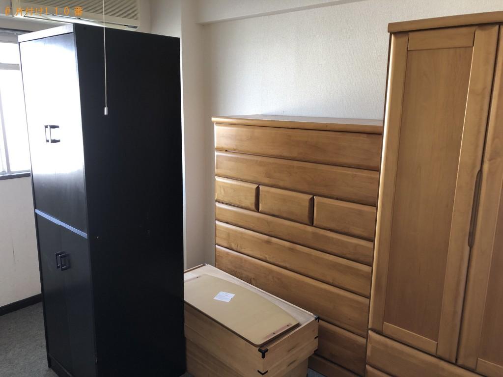 【渡名喜村】エアコン、洗濯機、こたつ、整理タンス、食器棚等の回収