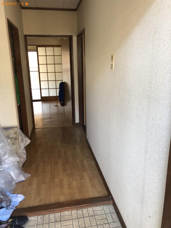 【久米島町】引越しに伴い家具、細々した物の処分ご依頼 お客様の声