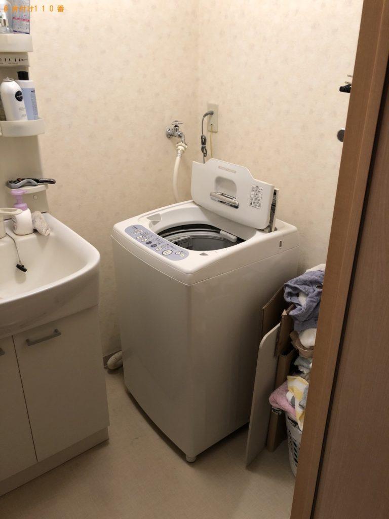 【西原町】洗濯機と物干しざおの回収・処分 お客様の声