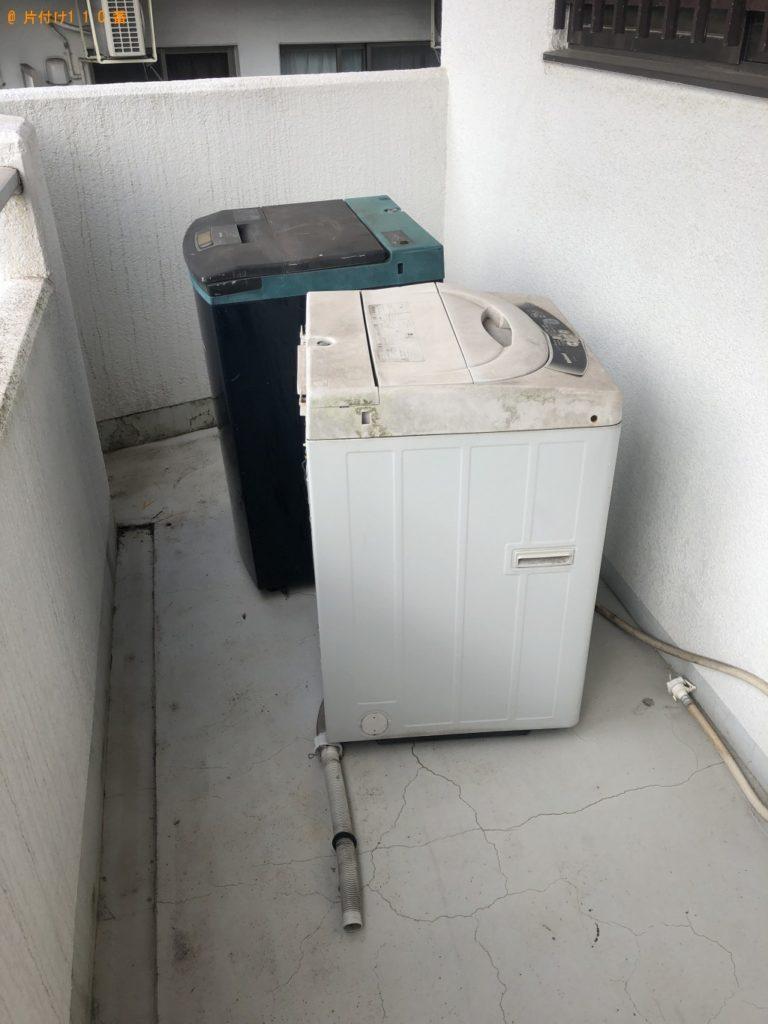 【北谷町】洗濯機2点の回収・処分 お客様の声