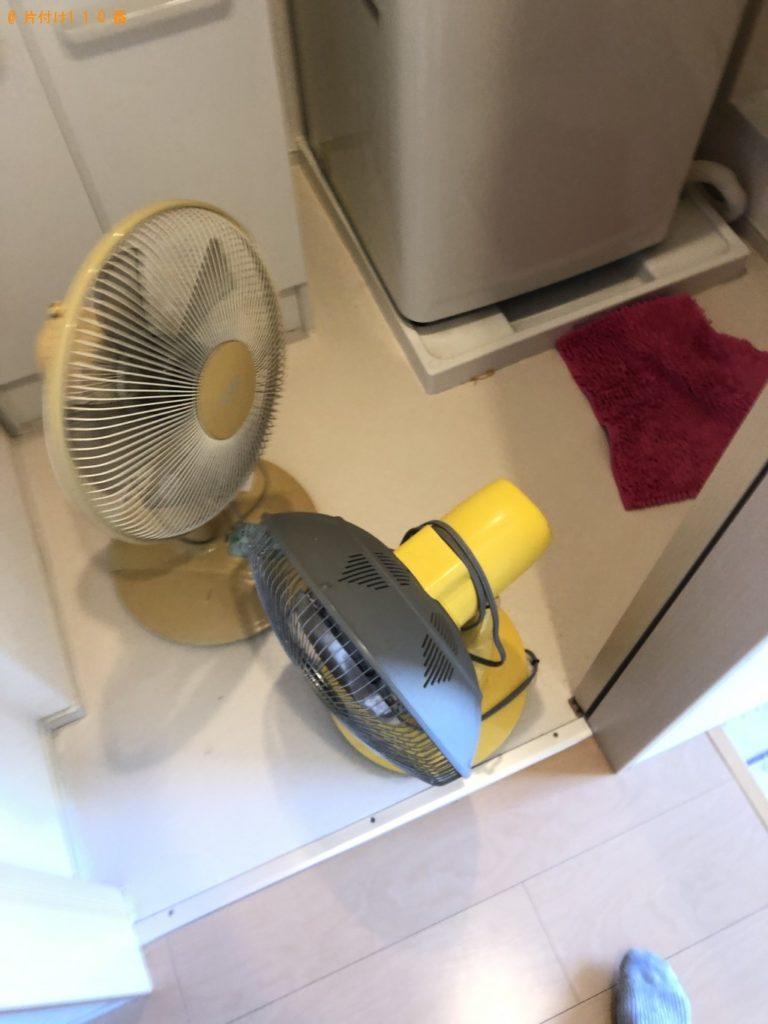 【嘉手納町】洗濯機、扇風機の出張不用品回収・処分ご依頼