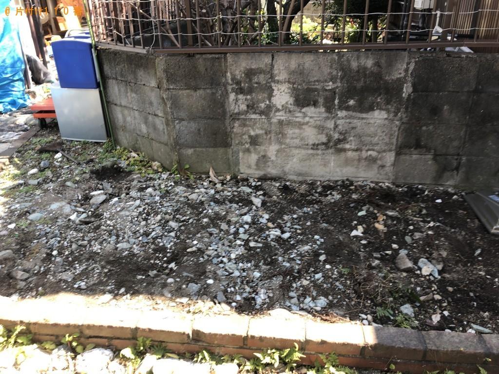 【今帰仁村】庭石、木材等の回収・処分ご依頼 お客様の声