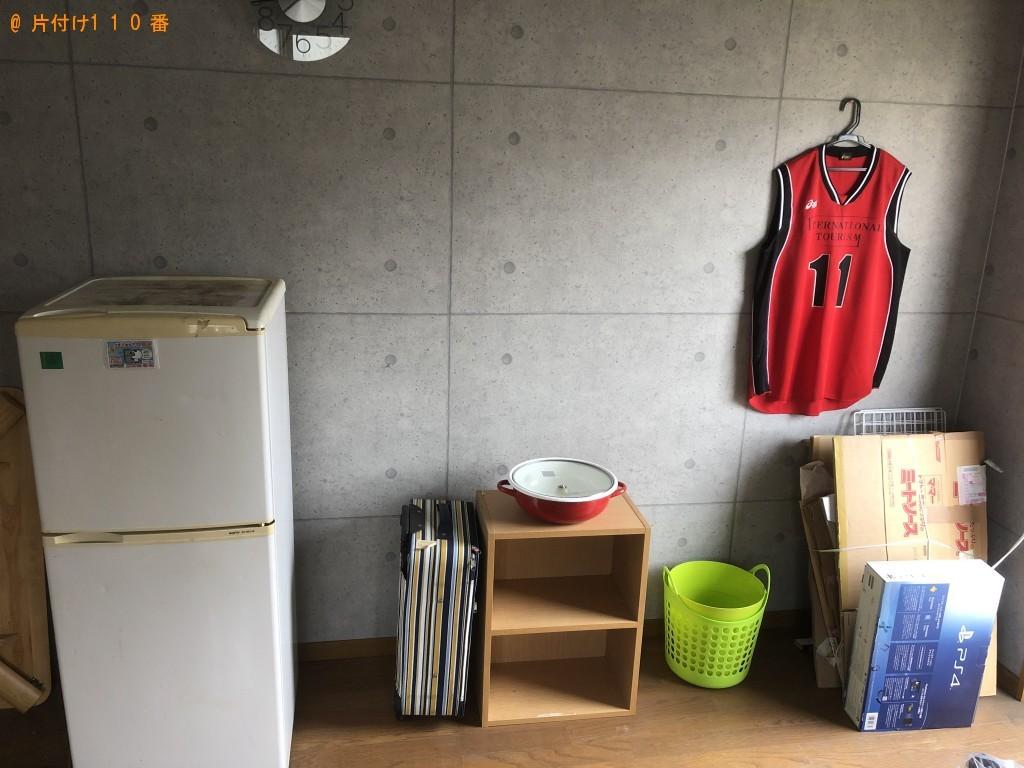 【北谷町】冷蔵庫、洗濯機、カラーボックス、鍋等の回収