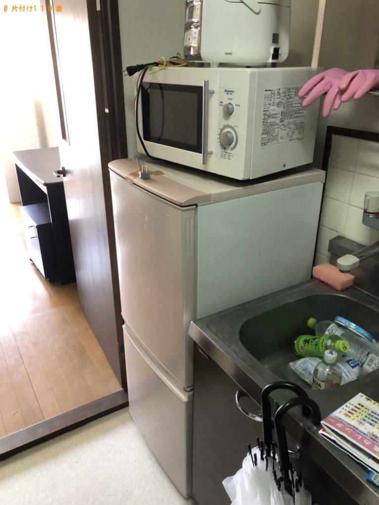 【久米島町】冷蔵庫、洗濯機、シングルベッドの回収・処分ご依頼