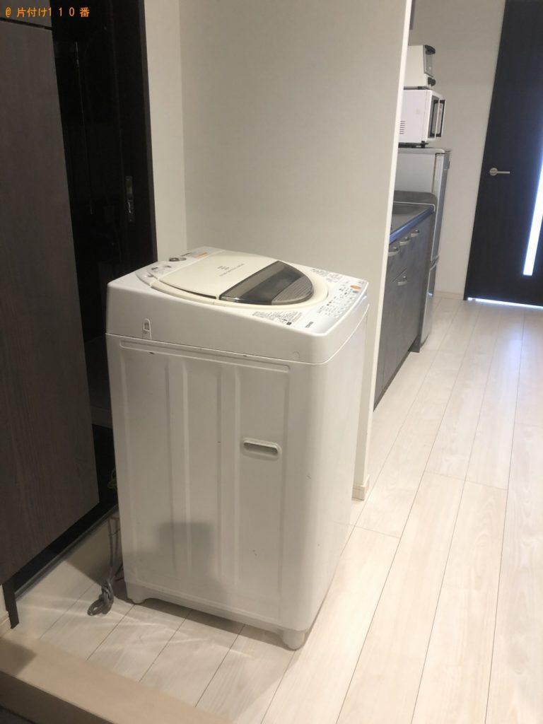 【宜野座村】冷蔵庫、洗濯機、電子レンジ、トースターの回収