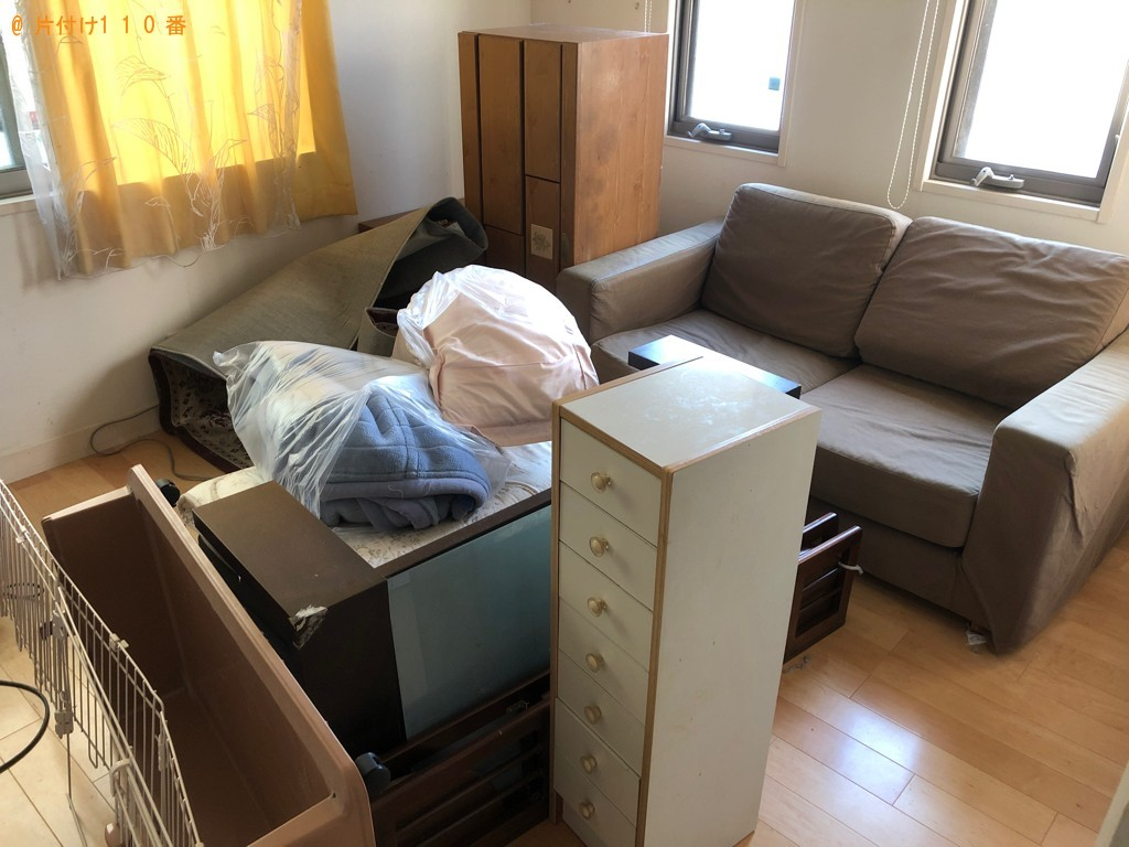 【渡名喜村】タンス、ソファー、椅子、自転車、布団等の回収・処分