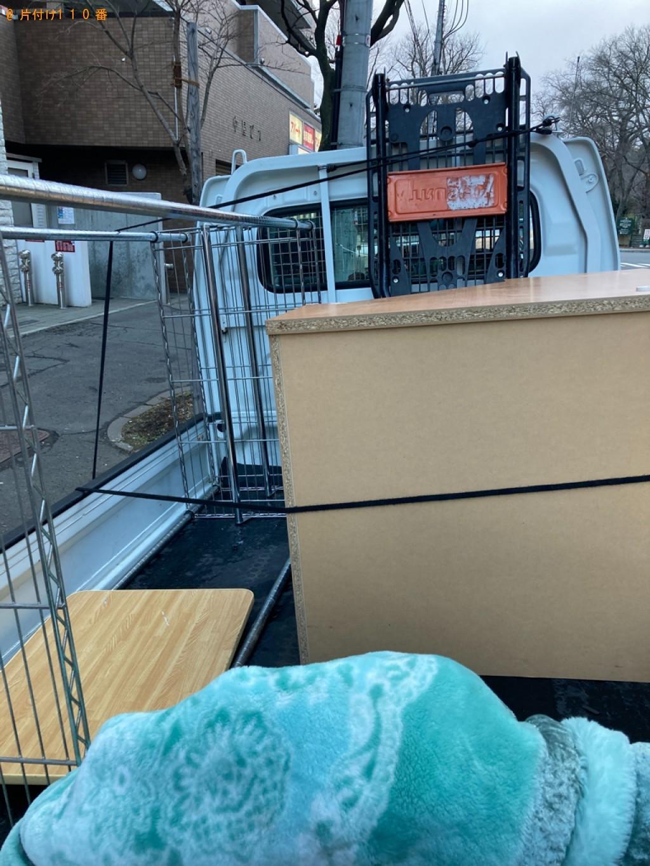 【竹富町】ハンガーラック、木製の机の回収・処分ご依頼 お客様の声