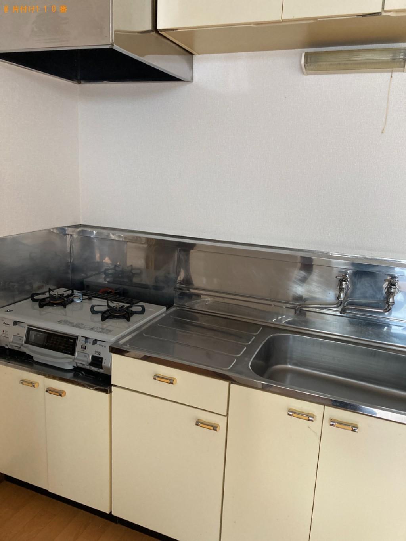 【那覇市】洗濯機、カラーボックス等の回収とハウスクリーニング