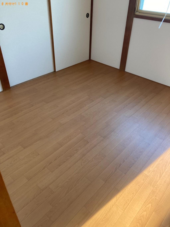 【那覇市】遺品整理に伴い洗濯機、カラーボックス等の回収とハウスクリーニング