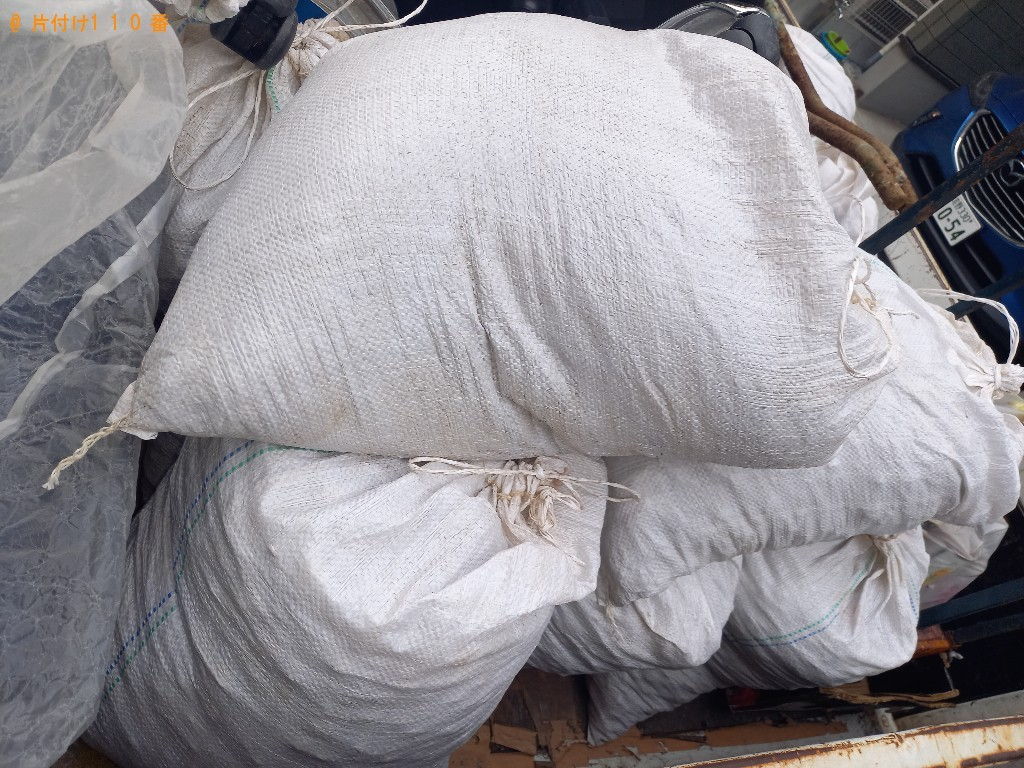 【那覇市】砂利の回収・処分ご依頼 お客様の声