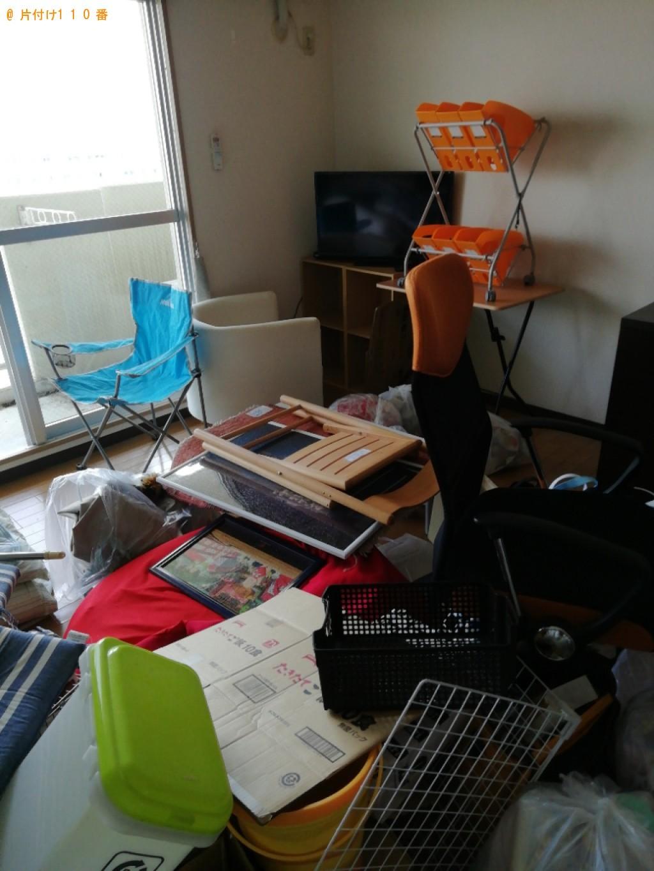 【八王子市】冷蔵庫、テレビ、洗濯機、ローテーブル、一般ごみ等の回収
