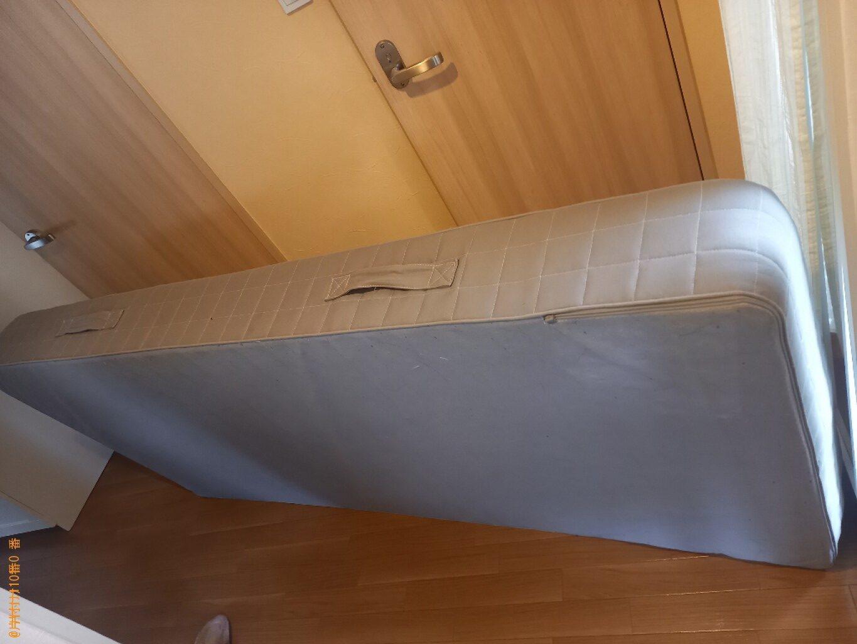 【那覇市】シングルベッドマットレスの回収・処分ご依頼 お客様の声