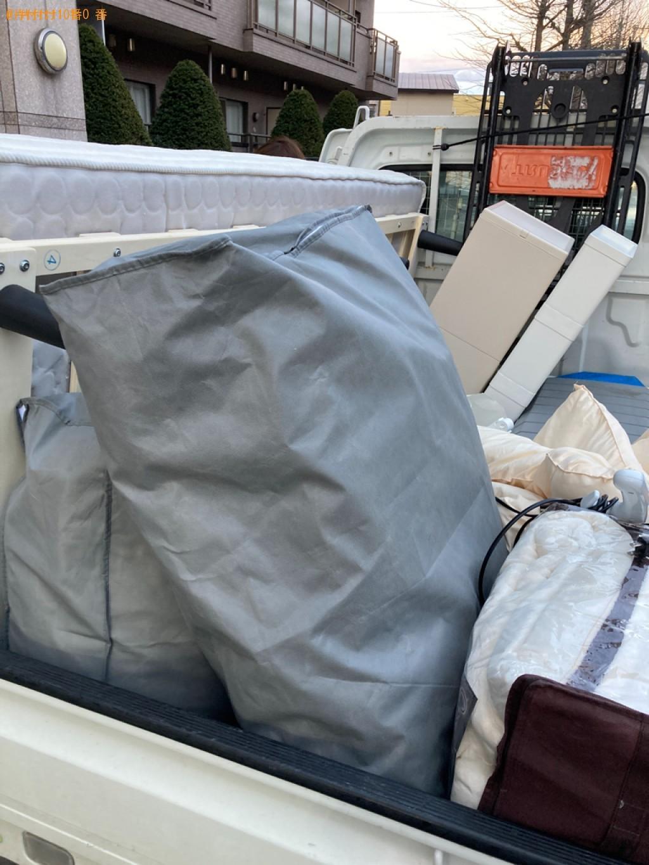 【那覇市】シングルベッドマットレス、布団、一般ごみの回収・処分