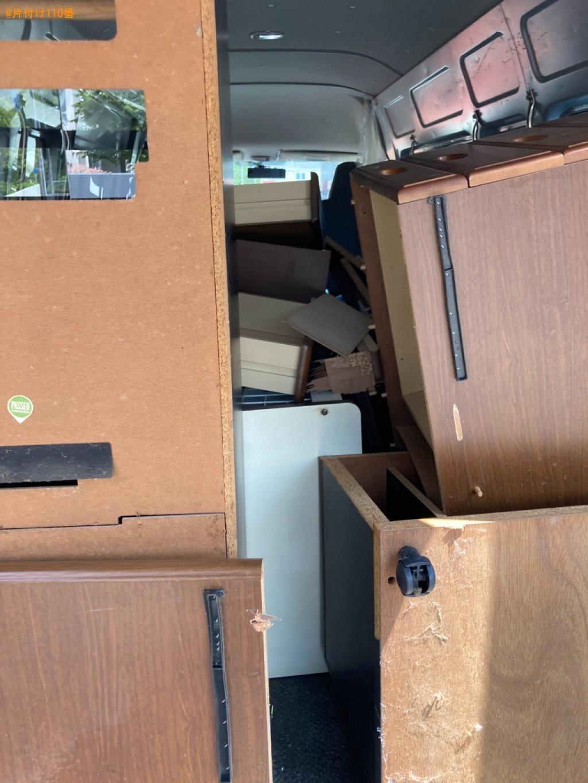本棚、タンス、学習机、テレビ等の回収・処分ご依頼 お客様の声